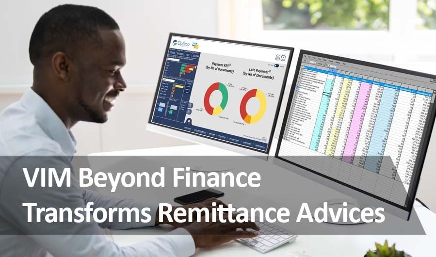 VIM Beyond Finance Remittance Advices Cash Application