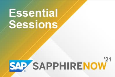 Essential Sessions at SAPPHIRE NOW
