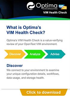 VIM Health Check Overview