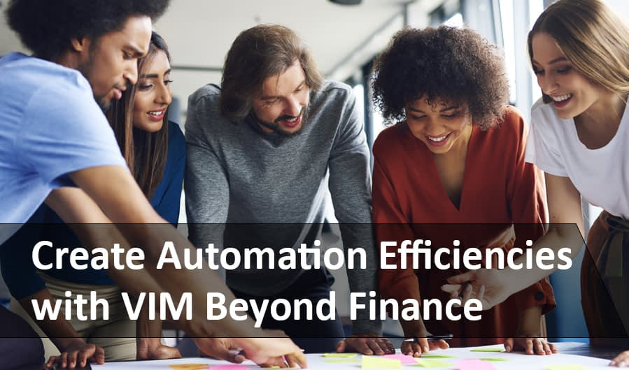 Automation Efficiency with VIM Beyond Finance